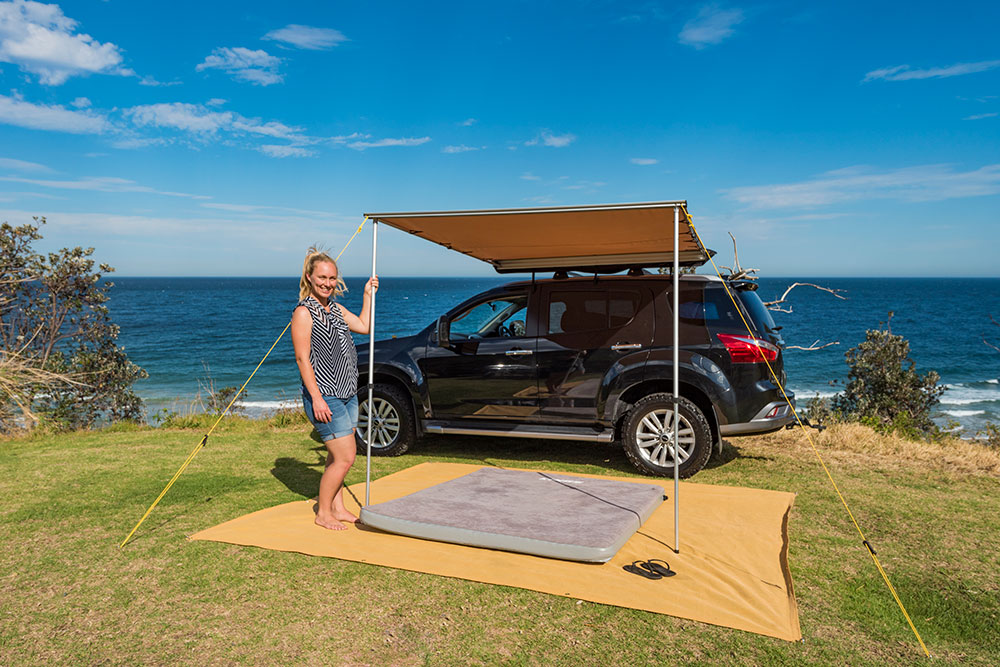 How to get started camping – Kings Self-Inflating Mattress - image 171026-SupaCentreWombarra-7516 on https://www.4wdsupacentre.com.au/news