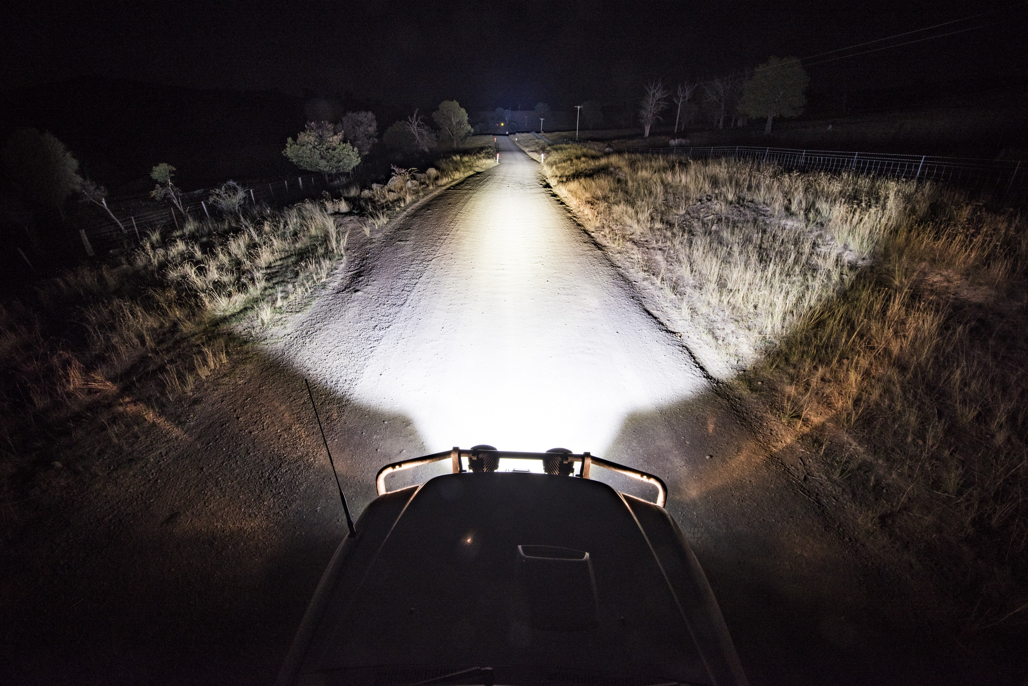 Should you install an LED Light Bar or are a set of LED Driving Lights!