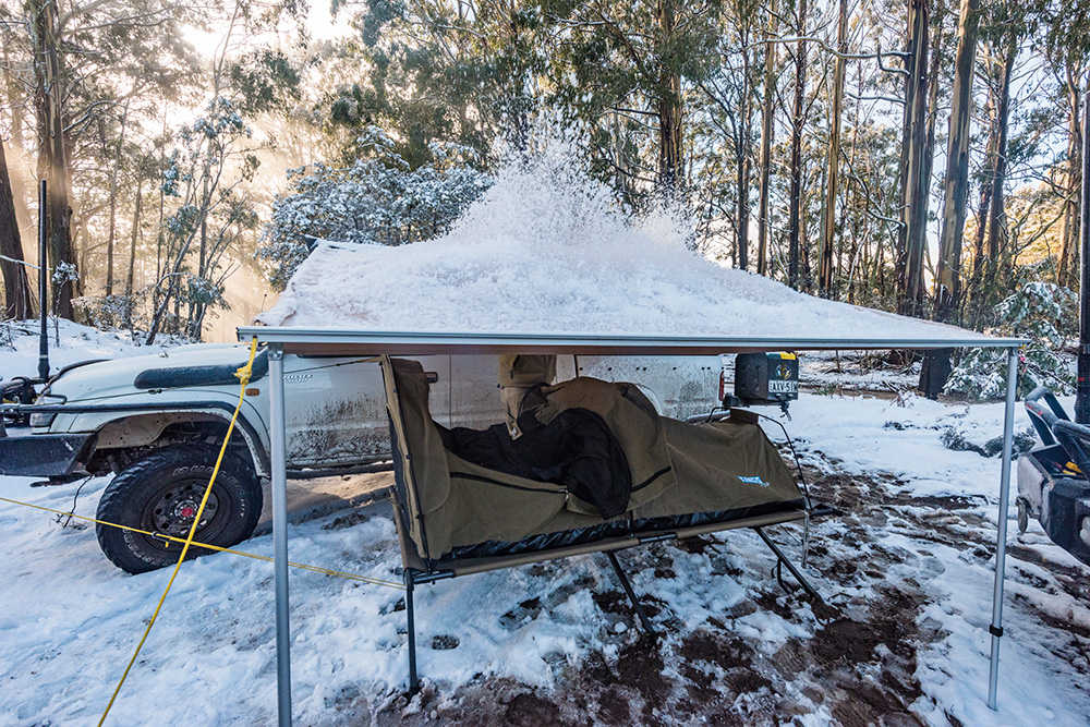 Snow camping trip essentials from 4WDSupacentre