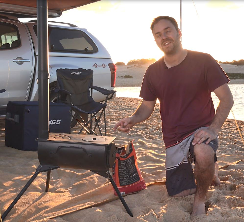 How to set up and stay warm at camp with an adventure Kings Camp Oven/Stove - image Capture-10 on https://www.4wdsupacentre.com.au/news