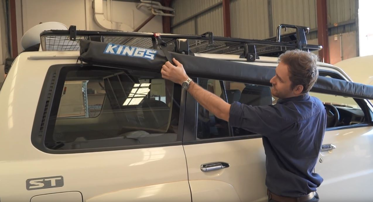 4Wd Supacentre Roof Rack Installation diy installation – fitting your adventure kings 4wd awning