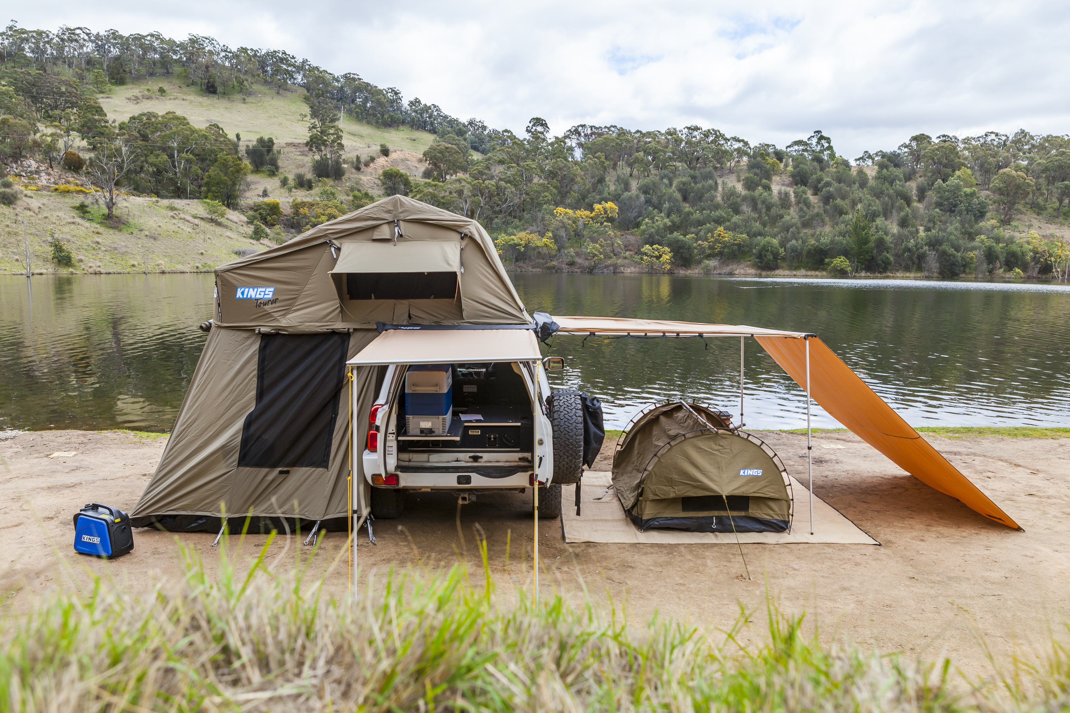 A Roof Top Tents have changed the way Aussies camp! - image 160929-Lake-Lyell-4-of-32 on https://www.4wdsupacentre.com.au/news