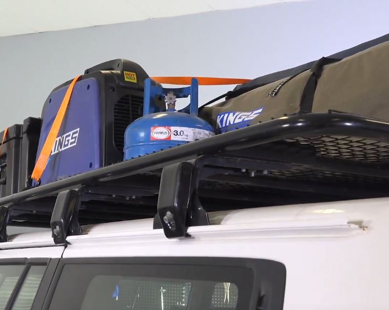 How to choose the PERFECT Steel Roof Rack for your vehicle! - image gutter-clamps on https://www.4wdsupacentre.com.au/news